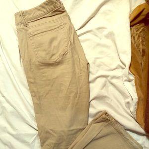 BeBop Boot Cut Khakis Size 7